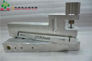 200mm throat depth round hole punch hole punch for bags